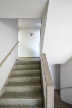 高輪中台マンション 外廊下