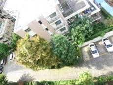 グリーンヒル新宿 廊下からの眺望