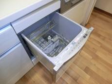 シャンボール松濤 ビルトインタイプの食器洗浄機付