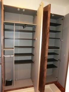 第23宮庭マンション シューズボックスは大容量