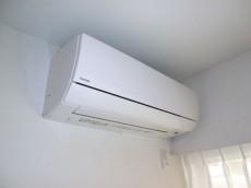 第23宮庭マンション エアコンが新規設置されています