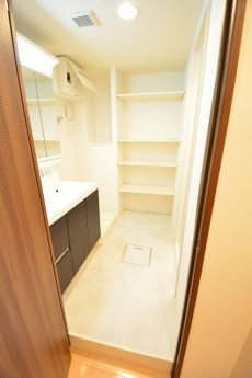 田町スカイハイツ 明るい洗面室708