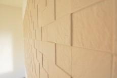 約7.2畳の洋室壁面のエコカラット