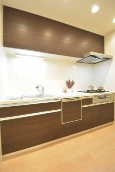 食器洗浄機付きのシステムキッチン