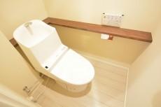 高輪中台マンション ウォシュレット付きトイレ