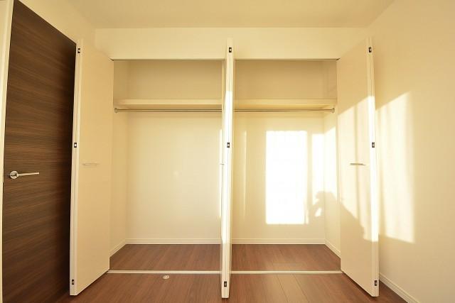 約4.6畳の洋室のクローゼット