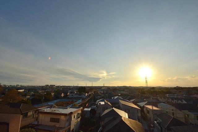 ルーフバルコニーからの眺め