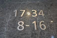 セントラルパークタワーラ・トゥール新宿 エレベーター表示