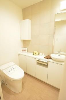 手洗い場のあるトイレ