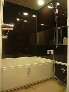 マンション駒場 高級感ある浴室