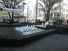 奥沢駅 駅前