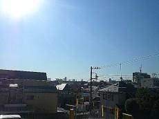 3階からの眺望