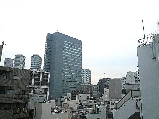 中銀築地マンシオン 最上階からの眺望