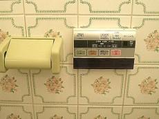 麻布網代マンション 2つ目トイレ 和室向かえにあります。