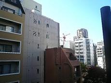 麻布網代マンション 5階からの眺望 LDK側