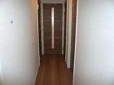 ヴェラハイツ日本橋箱崎 お部屋へ続く廊下です。