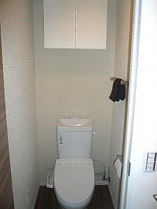 ヴェラハイツ日本橋箱崎 ウォシュレット付トイレです。