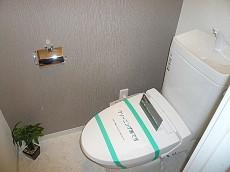 弦巻リハイム ウォシュレット付トイレです。