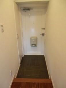 トキワパレス 玄関床にもデザインが施されています1109