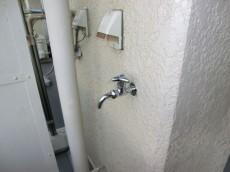 トキワパレス バルコニーには水栓あり1109