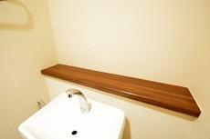 松濤ハウス トイレの棚