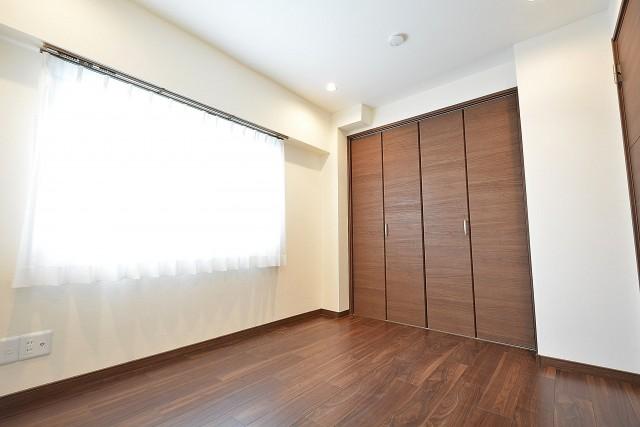 松濤ハウス 5.0帖のベッドルーム