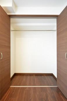 松濤ハウス 5.0帖のベッドルーム クローゼット