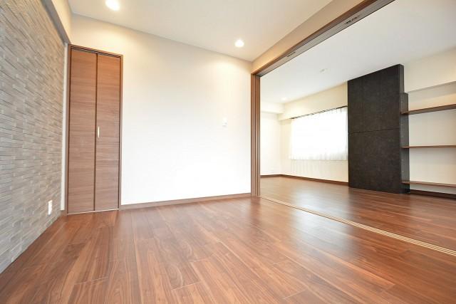松濤ハウス 4.5帖のベッドルーム