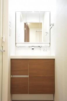 ハイツ日本橋中洲 洗面化粧台
