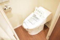 明石町アビタシオン ウォシュレット付きトイレ