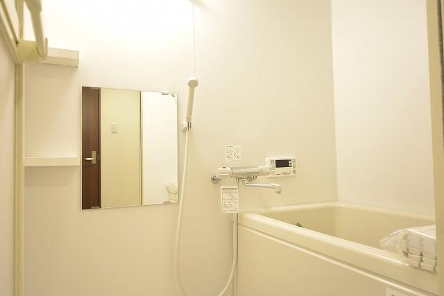 大森パークハイツ 追い焚き機能付きバスルーム