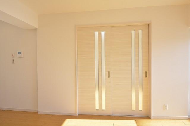大森パークハイツ 洋室の扉