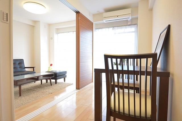 秀和南品川レジデンス DKと洋室をつなげて広々とした空間に♪