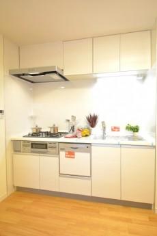 松濤ハウス 食洗機付きのシステムキッチン