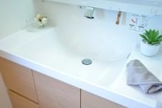 松濤ハウス カウンター一体型洗面ボウル