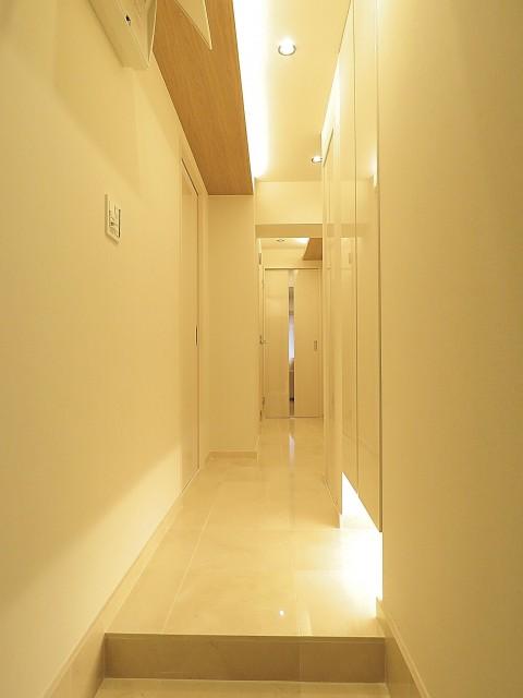 グリーンキャピタル広尾 廊下