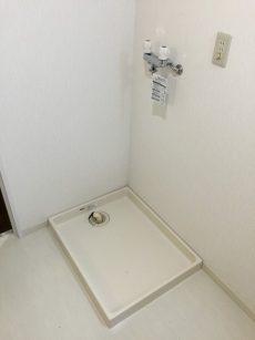 マンションフロイント麻布 洗濯機置場