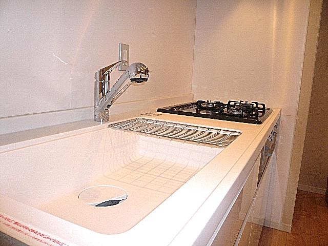 チュリス氷川坂 清潔感あるキッチンです。 312