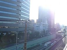 環七通り沿い眺望