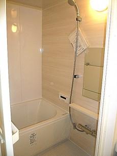 原宿ニュースカイハイツ ソフトな雰囲気のバスルーム