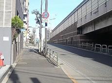 柿の木坂スカイマンション 環七通り
