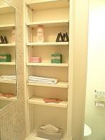 洗面化粧台 収納棚