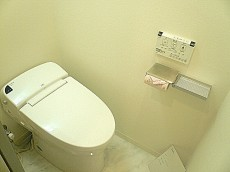 ウォシュレット付トイレです。