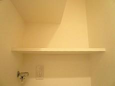 洗濯機置き場 収納棚