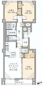 ストークマンション三田 間取り図