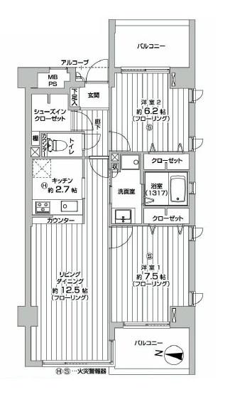 グランドメゾン高円寺南 図面
