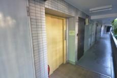 パレドール千駄木Ⅱ エレベーターホール