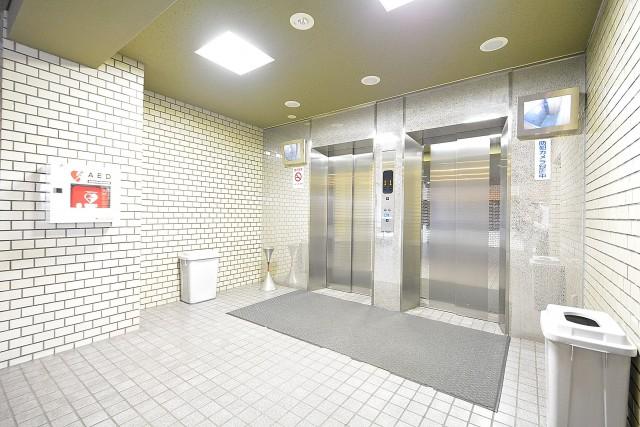 飯田橋第2パークファミリア エレベーターホール