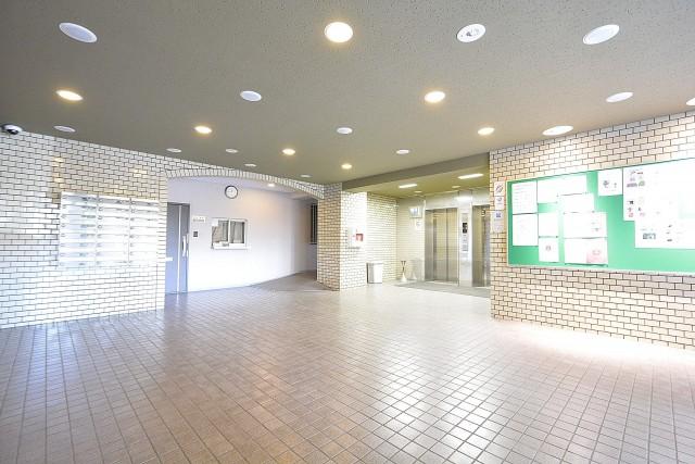 飯田橋第2パークファミリア エントランスホール