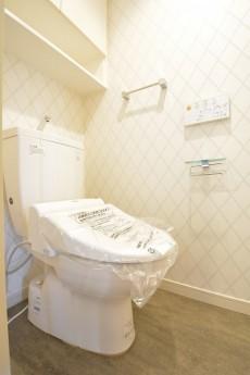 大崎南パークハウス ウォシュレット付きトイレ